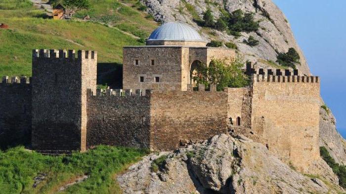 Genovska trdnjava Teodozijeva zgodovina