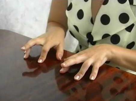 file di scheda di ginnastica delle dita