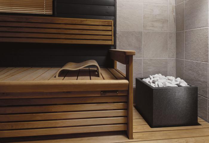Costruzione di sauna finlandese