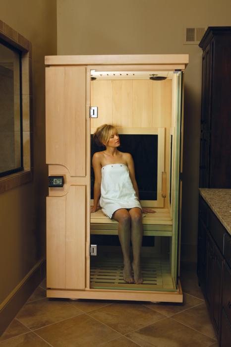 Sauna a infrarossi finlandese