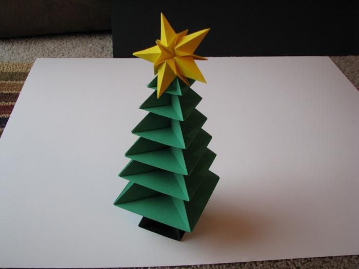 albero di origami