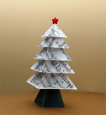 albero di moduli origami