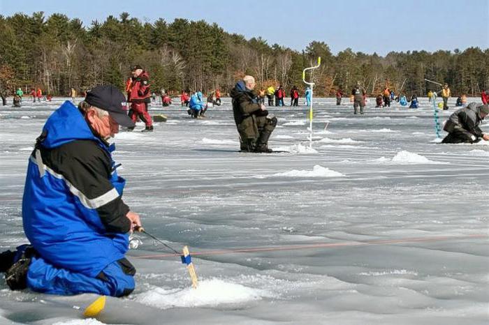 Зимен риболов в Ханти-Мансийск