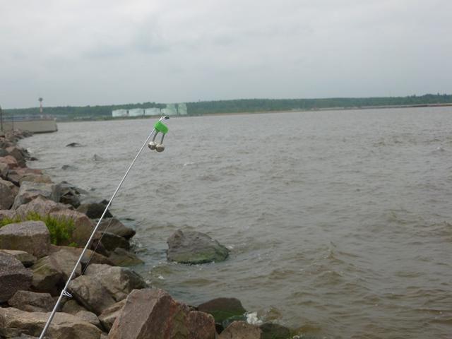Ribolov na brani finskog Zail mjesta