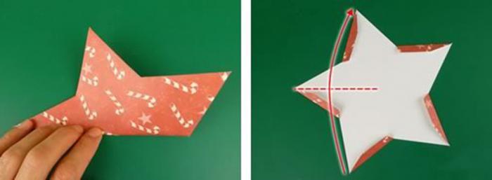 come fare una stella a cinque punte volumetrica