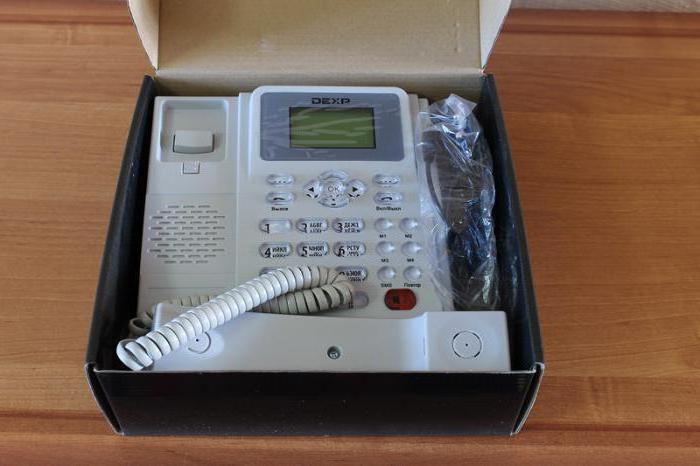 фиксни телефон са СИМ картицом Ростелецом