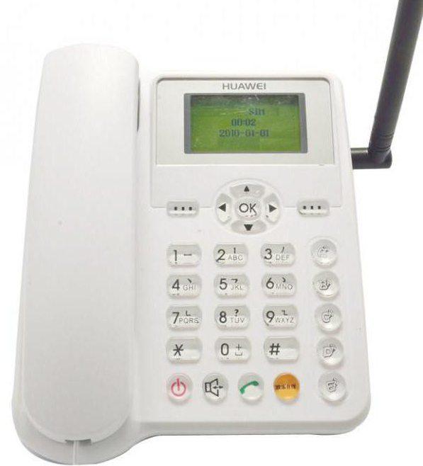стационарен мобилен телефон със SIM карта