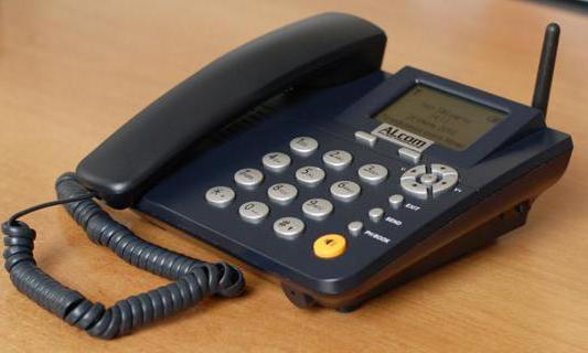 Безжичен стационарен телефон със SIM карта