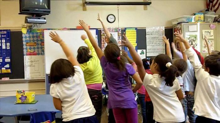 osnovna šola v razredu