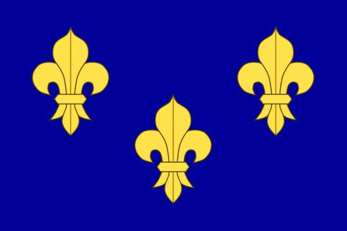 Флаг на Франция