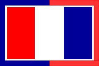 Цвят на флага на Франция