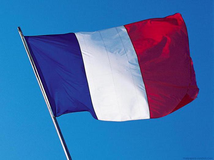 Какво е знамето на Франция