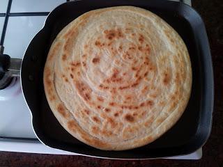 Uzbekské tortilly v troubě