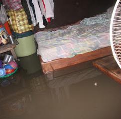 sanjske sanjske poplave v mestu