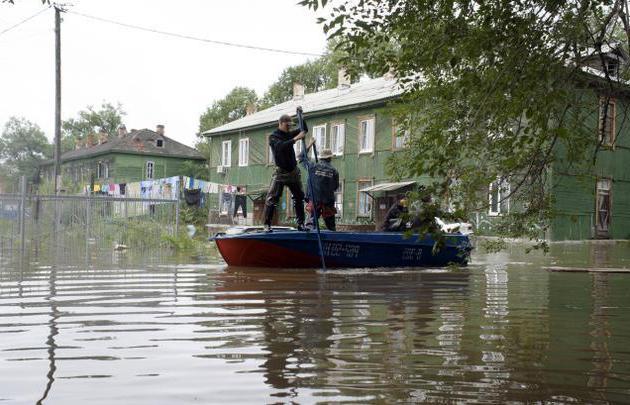 наводнение в Русия