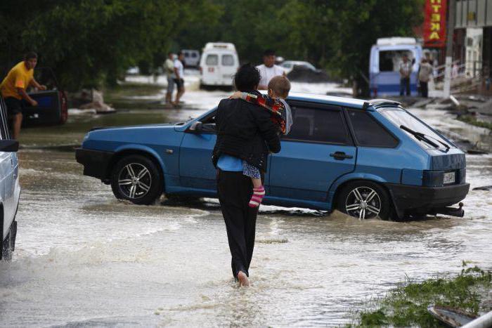 последно наводнение в Русия