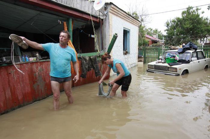 големи наводнения в Русия
