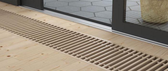 решетки за подови конвектори