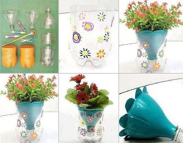 vasi di fiori fai da te master class