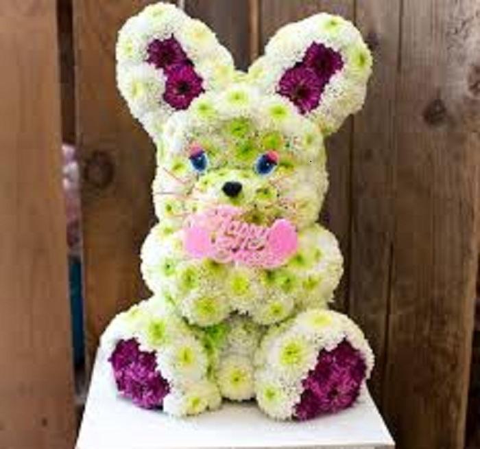 Coniglietto di fiori