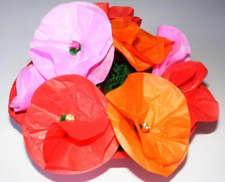 хартия оригами цвете
