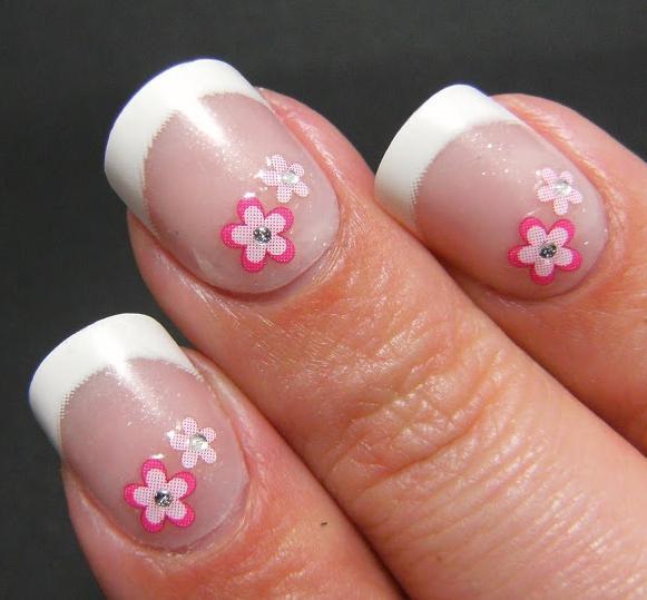 cvijeće na noktima