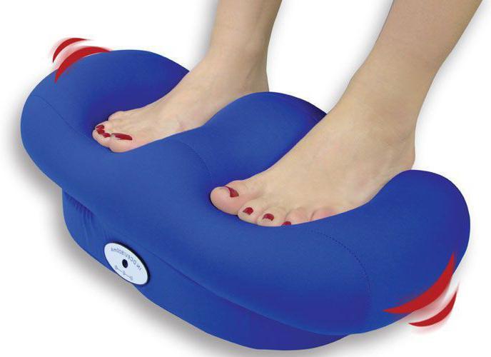 masážní blaženost pro chodidla a kotníky nohou