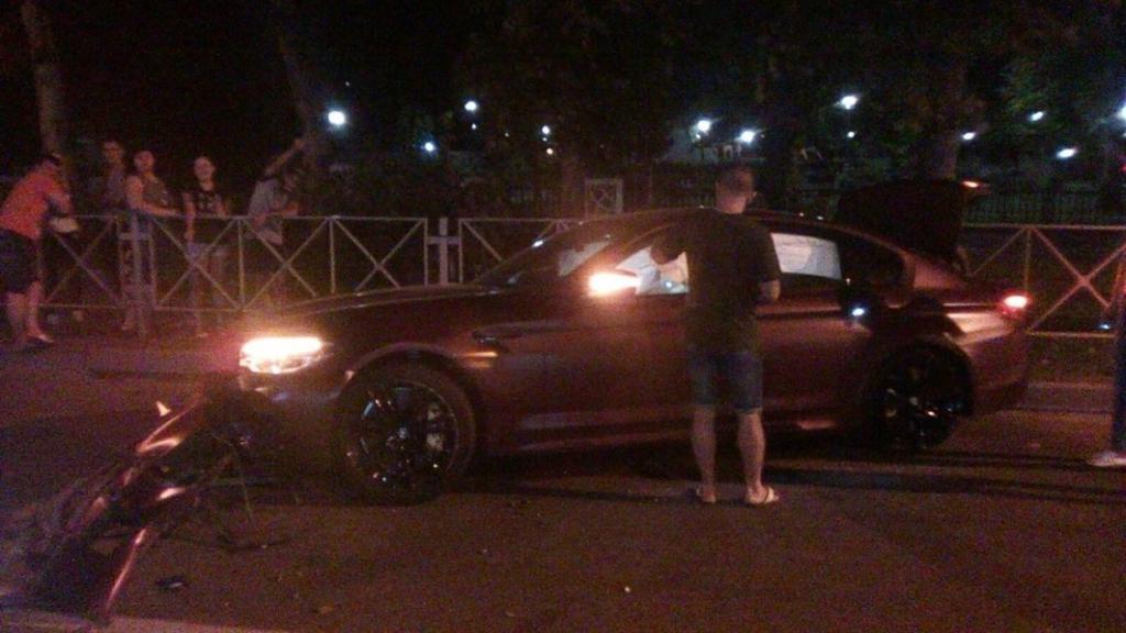 L'incidente a Krasnodar
