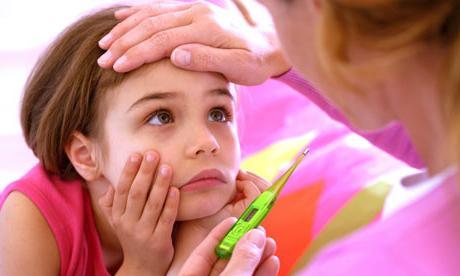 остър бронхит при лечение на деца