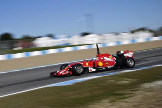 formula 1 brzina