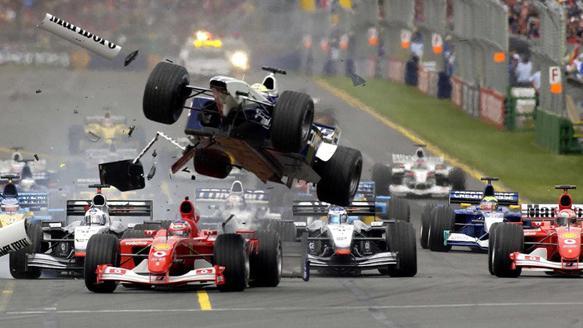 Formula 1 trkaći automobil