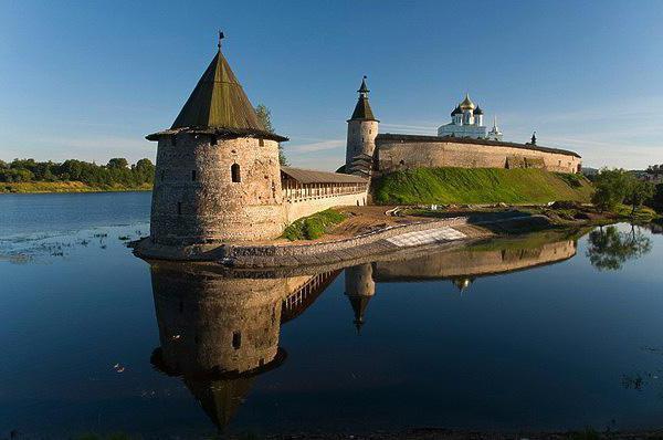 Средњовековна тврђава Русије
