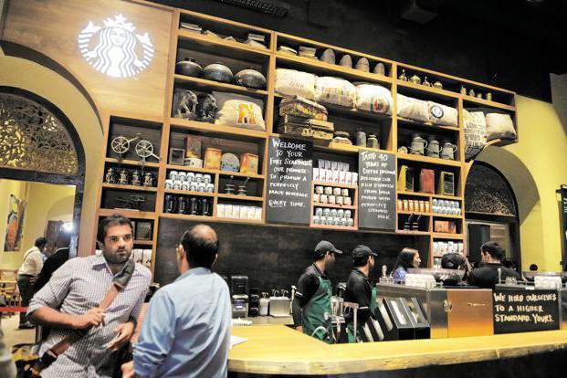 Starbucks franšize v Rusiji
