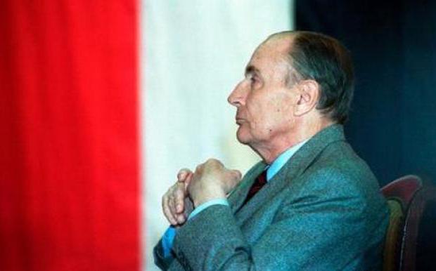 Президент на Франция Франсоа Митеран