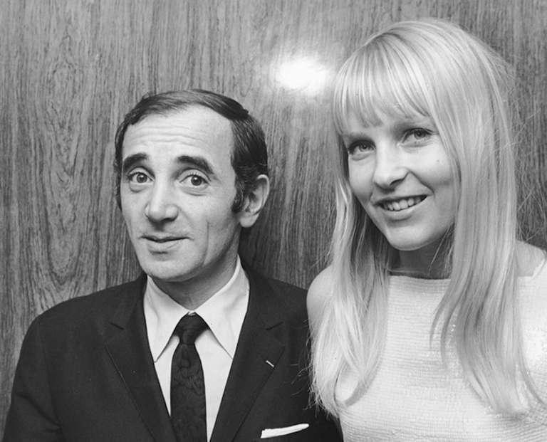 Aznavour sa svojom voljenom ženom