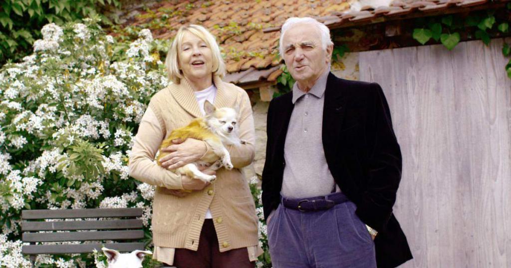 Charles Aznavour i Ulla Torsel