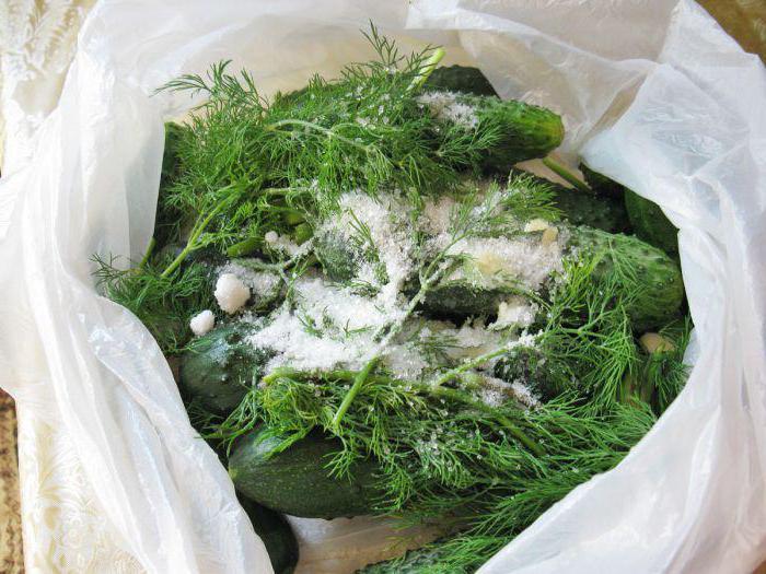 Sol na sveže soljene kumare
