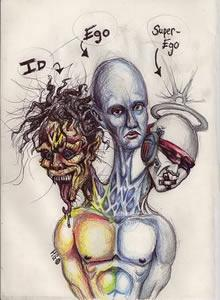 Freudova psychologická teorie