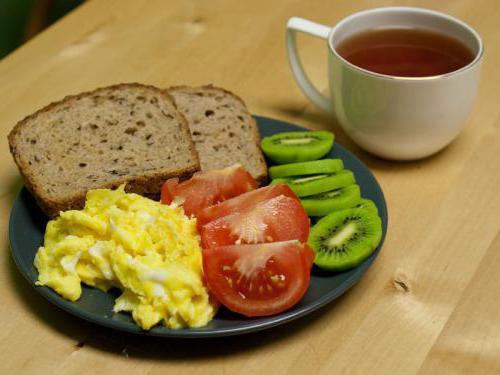 бъркани яйца с домати калории