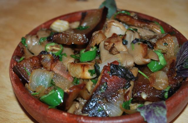 Ricetta per funghi ostrica fritti in panna acida