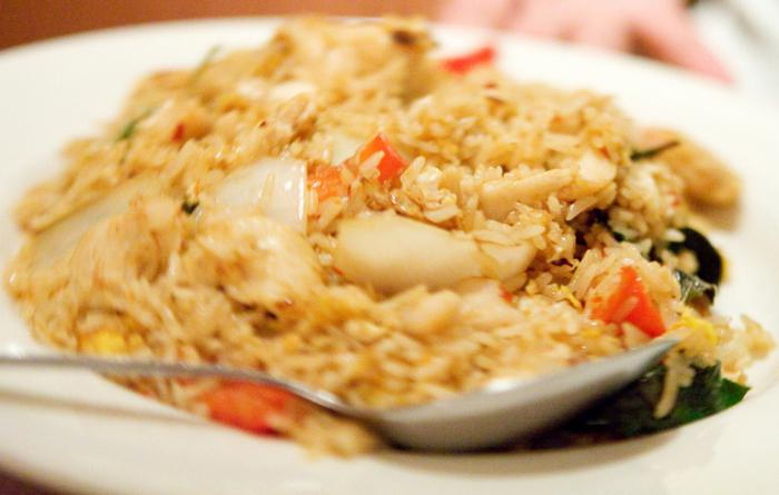 Riso fritto tailandese