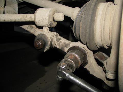 окачване на предното окачване vaz 2109
