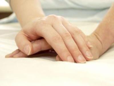 Grzyb na objawach ręki