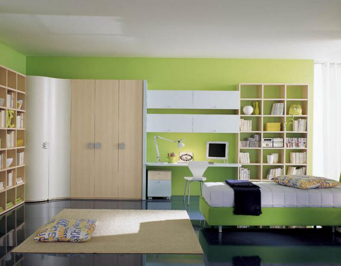 mobili nella scuola materna per ragazzi