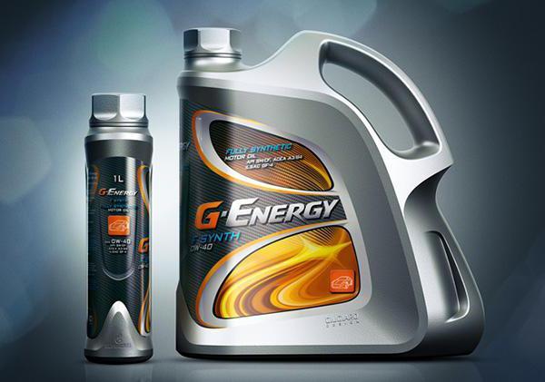 g olio sintetico di energia