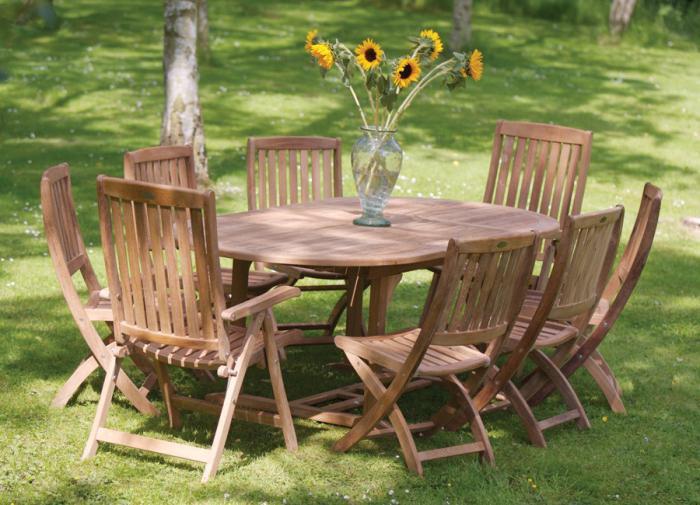 zahradní nábytek si to sami