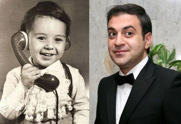 Garik Martirosyan durante l'infanzia