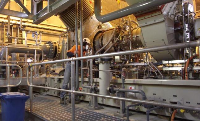 raffreddamento della turbina a gas