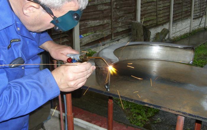 plynové svařovací zařízení pro svařování plynem