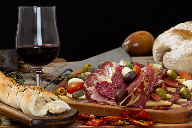 Tour gastronomico in Italia